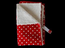 Warme Kinderdecke mit flauschiger Innenseite und tollem Muster