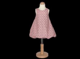 Süßes Ballonkleid mit Rautenmuster für Mädchen in verschiedenen Größen