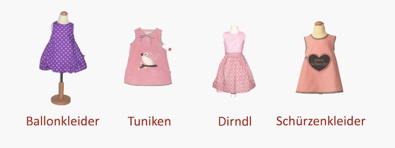 """Wir verkaufen Ballonkleider, Tuniken, Dirndl und Schürzenkleider in der Rubrik """"Kinderbekleidung"""""""
