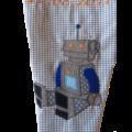 Schultüte Roboter Motiv in Detailaufnahme
