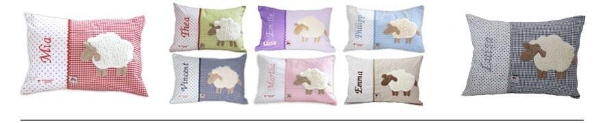 Wählen Sie Ihr Lieblingskissen! Jedes Kissenmotiv gibt es in mehreren Farben.