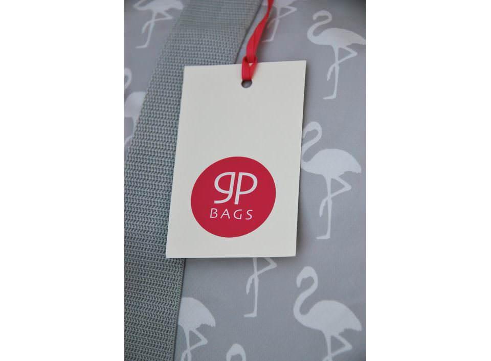 Einkaufstasche mit Flamingoes