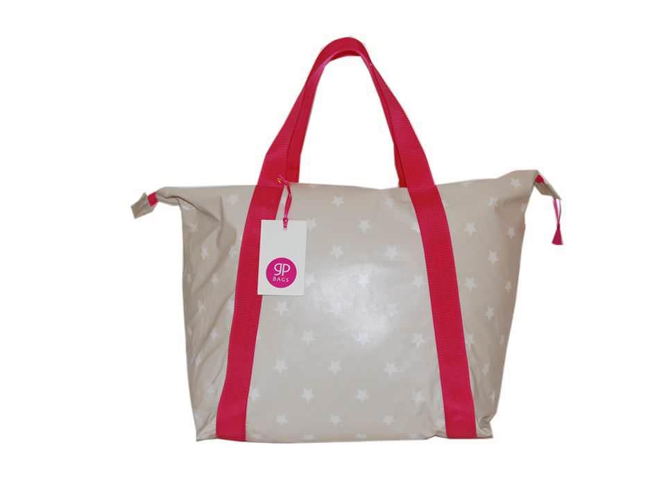 Einkaufstasche mit Sternen