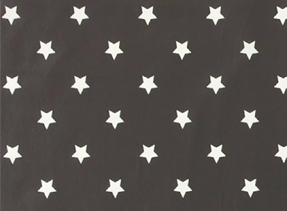Stoff Sterne auf anthrazit