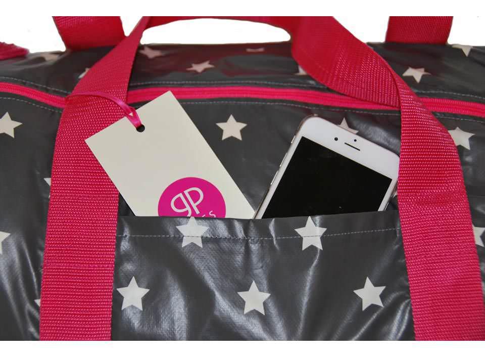 Reisetasche mit Sternen Seitenfach