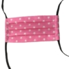 Gesichtsmaske in pink mit Sternen