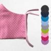 Gesichtsmaske-Premium-Punkte rosa