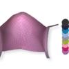 Premium Maske rosa gepunktet