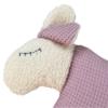Schauen Sie Sich hier die Detailaufnahme unseres Kuscheltier Kissens Schaf an