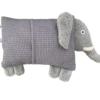 Schauen Sie Sich hier unser Kuscheltier Kissen Elefant von der Rückseite an.